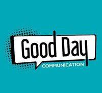 logo good day communication, graphiste print et web sur la Saint-Etienne et Le puy en velay