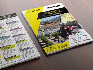 Mixeur flyer graphiste saint-etienne creation haute-loire print web
