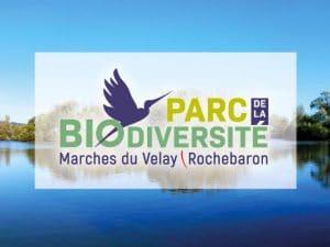 logo du parc de la biodiversité Marches du Velay Rochebaron