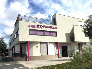 création d'une enseigne pour la maison de quartier Aretha Franklin