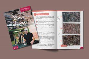 Création du livret pédagogique de la maison du projet de la ville de Saint-Etienne