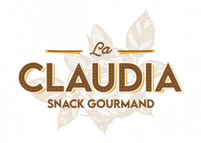 Création de logo : La Claudia